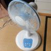 ストーブから扇風機の季節到来!