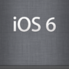iOS6リリース&暫くiPhoneネタが続きます。